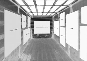 Gallery space post modernist